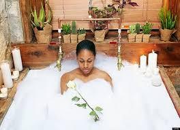 Beneficios del baño de manzanilla