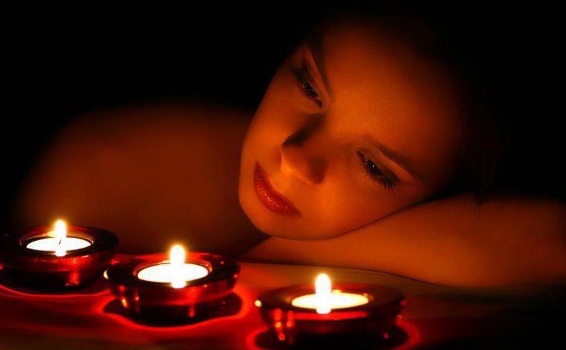 Ritual con velas dulces